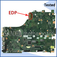 SHELI original X550ZE motherboard for ASUS X550ZE VM590Z X550ZA laptop motherboard tated mainboard EDP port HD screen