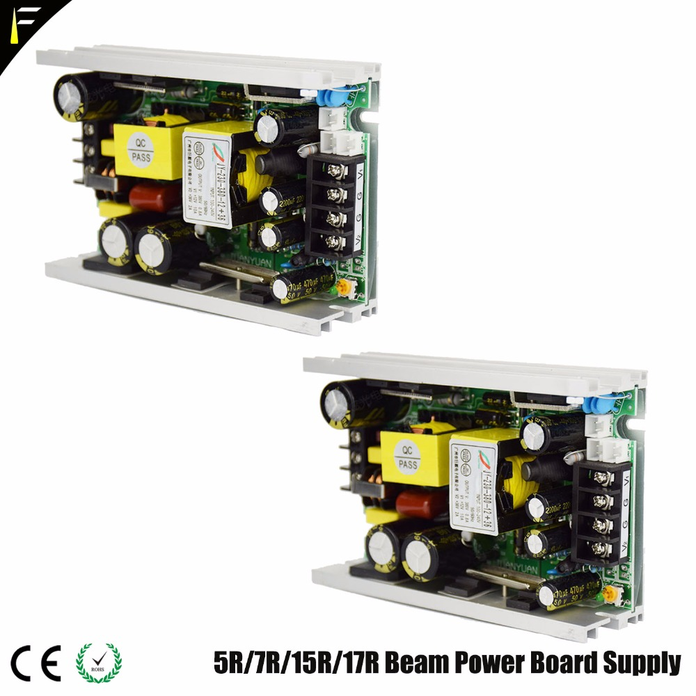 Sharpy Beam 200 230 5R 7R Power Supply Part Replacement Supply Power to 390v Ballast Drive 24v28v36v Main Board 12v Cooling Fan