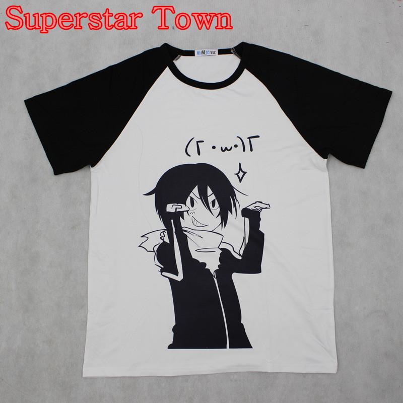 HTB1AMGuMVXXXXbyXXXXq6xXFXXXA - Summer Style Sudadera Anime Tops Tee Casaul Noragami T-shirt