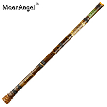 8 Holes Bamboo Shakuhachi Flute with Root G Key Wooden Musical Instrument Japanese Flute with Black Line Woodwind Instrumen