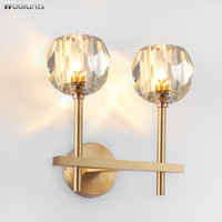 Nordic loft bedroom LED wall lights living room wall sconce lighting indoor lamps Vintage Bedside wall deco North American style