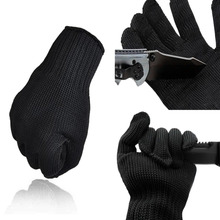 Wholesale 1 Pair Soft Stainless Steel Wire Cut Resistant Anti Cutting Anti static font b Gloves