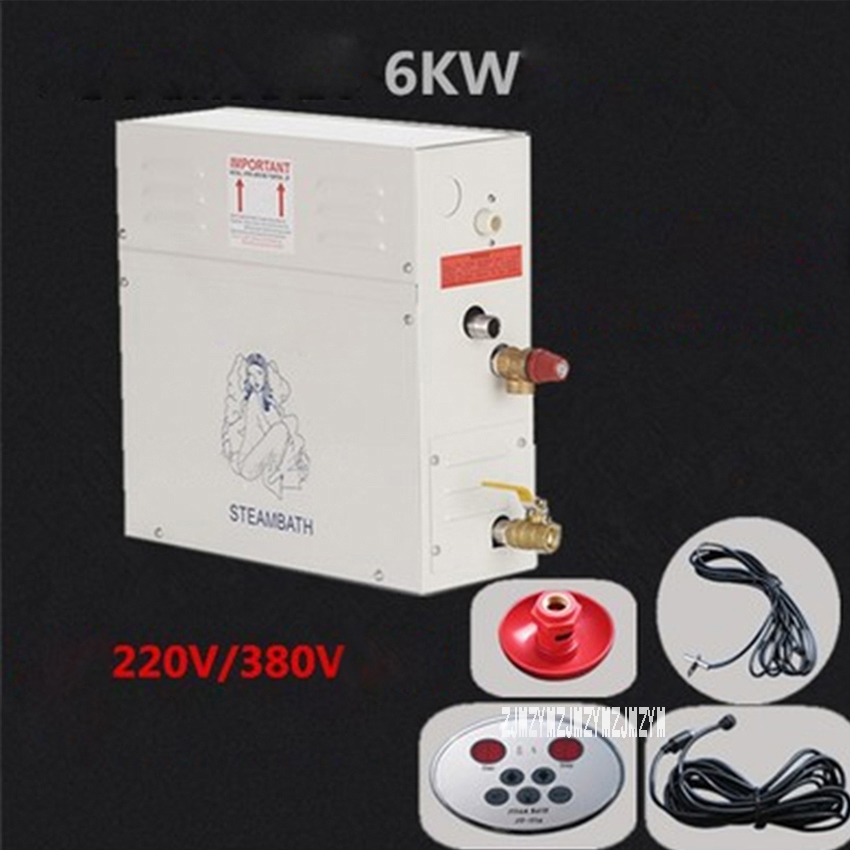ST-60 6KW 220V/380V Steam Generator High Quality Steam Bath Generator Home Shower Room Household Sauna Steam Generator Hot Sale самокат y scoo rt slicker 205 зеленый 4856