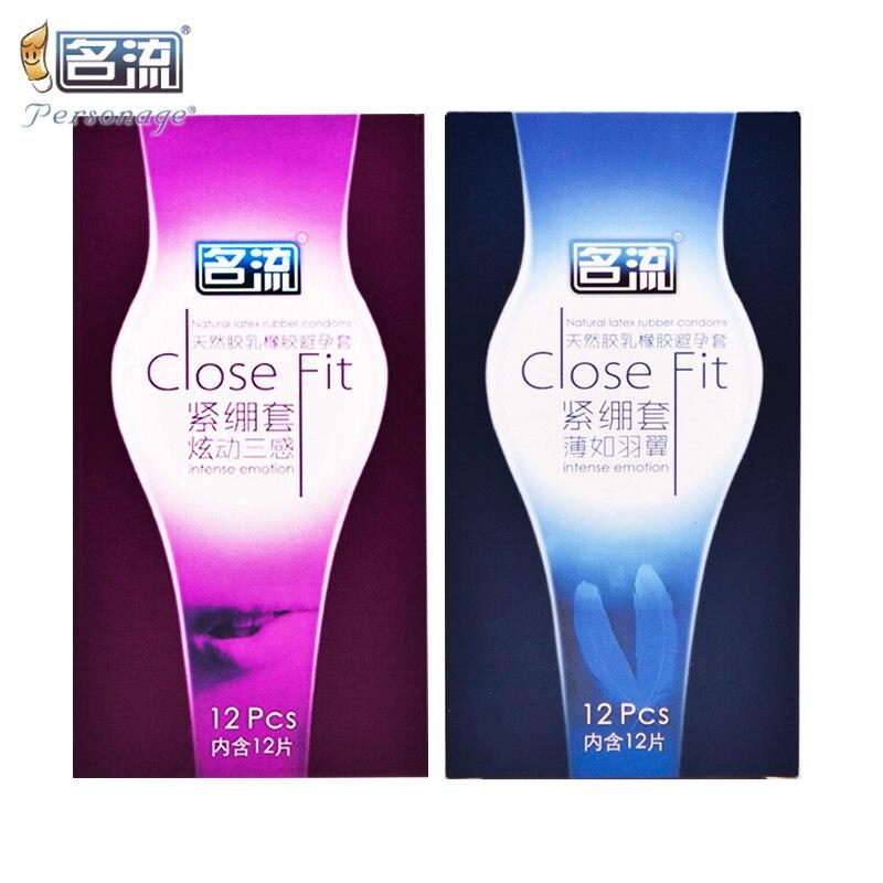 PERSONAGE 24 шт./лот, маленький размер 49 мм, ультра тонкие, плотно прилегающие презервативы, усиленный латексный каучук, супер плотные рукава для пениса, безопасные секс-игрушки
