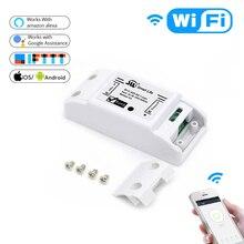 Interruptor de luz inteligente wifi para el hogar, temporizador de interruptor Universal, aplicación Smart Life, Control remoto inalámbrico, funciona con Alexa, Google Home, IFTTT