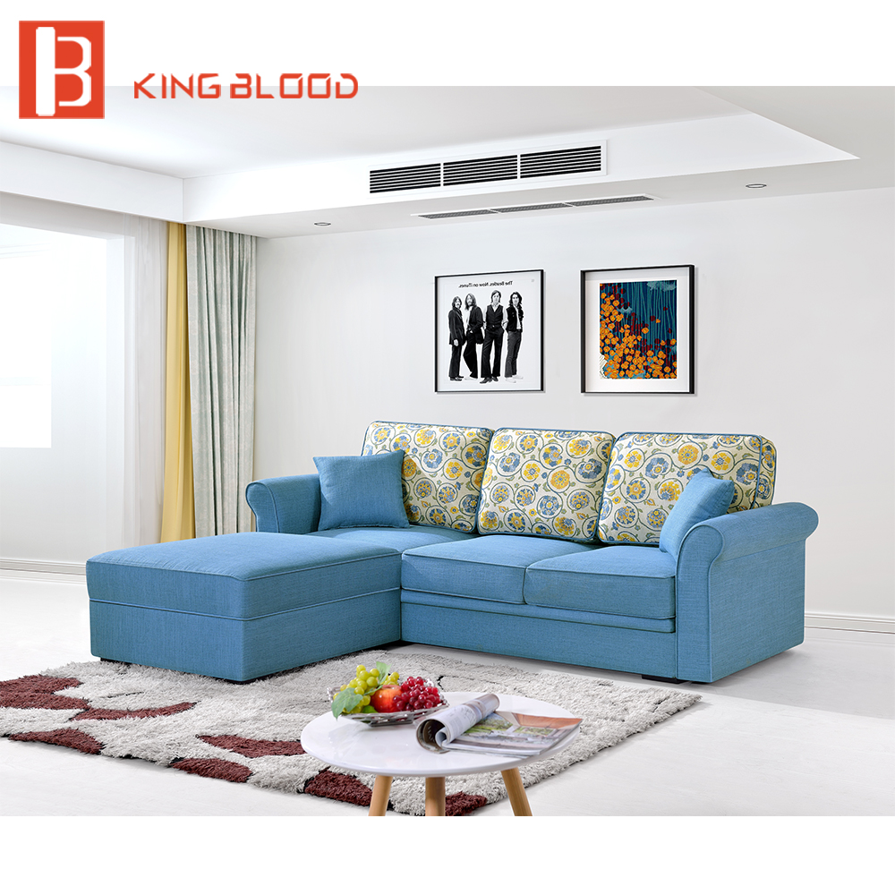 multi function l shaped sofa bed with big storage
