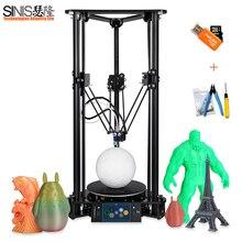 Pulley Guide DIY Kit 3D Printer Easy Assembled 3d Printer Machine with Smart Leveling Large 3D Printing Size Impressora 3D pad control food 3d printer pancake 3d printing machine