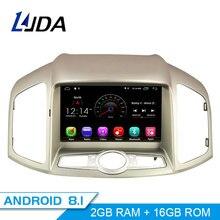 LJDA Android 8,1 dvd-плеер автомобиля для Chevrolet Captiva 2006-2015 wifi автоаудио радио gps навигация Canbus 2 г Ram Quad ядер