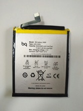 3000mAh BQ battery 3080 cell phone Battery For Aquaris U plus Lite Li-ion Bateria with