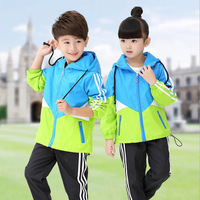 sports suits for children's sports suit for girls kids hooded Jacket+pant 2pcs children clothing sets clothes for boy children's