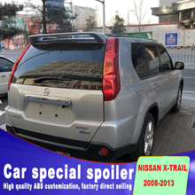 Bidirectional flow spoiler for 2008 to 2013 x-trail x trail high quality rear window roof nissan by primer