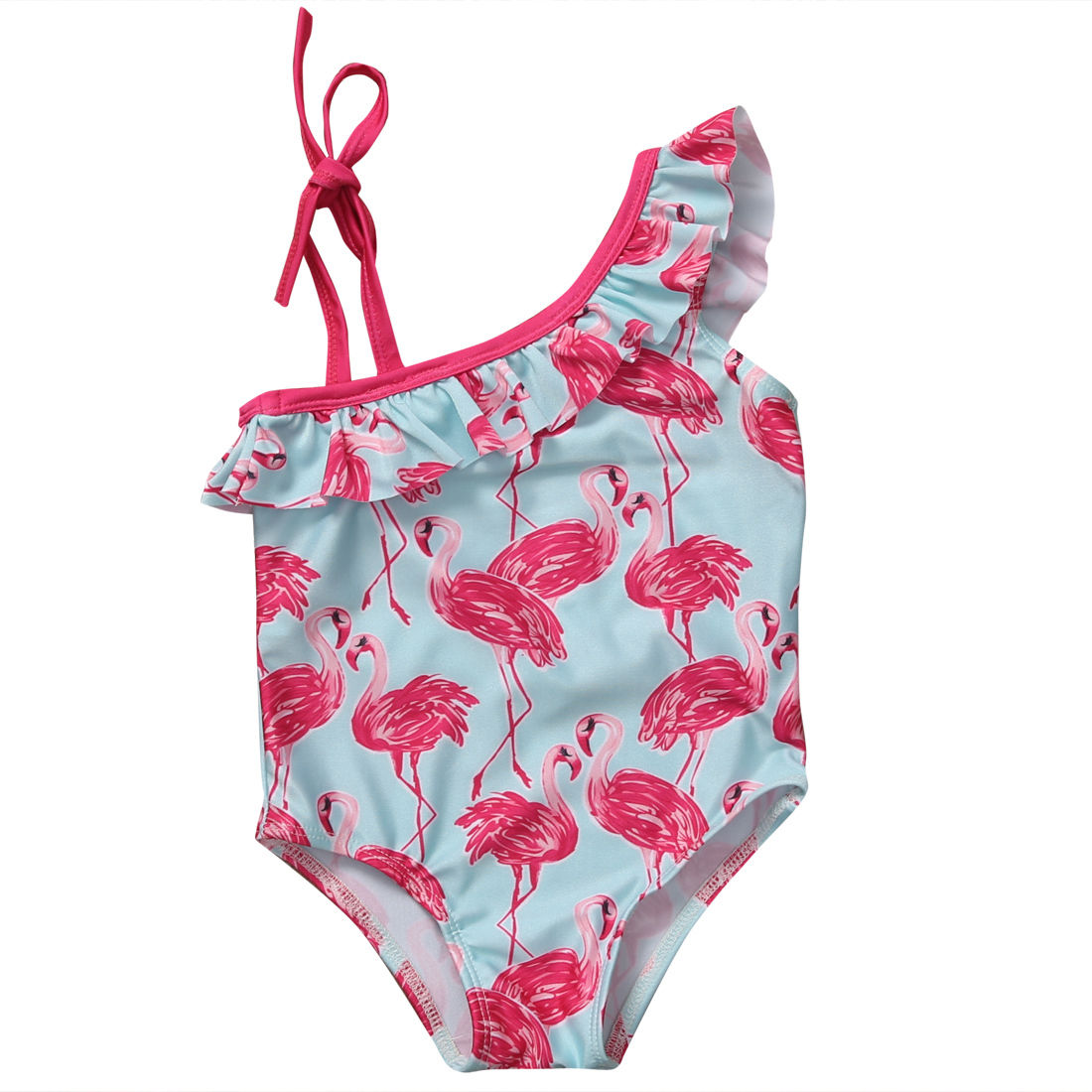 Summer Baby Girls Kids Bathing Suit Costume Swimsuit One Pieces Children Swimwear -9965