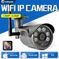 1.0MP 2MP Wireless IP Camera Outdoor Waterproof Night Vision Surveillance 3.6mm Lens CCTV Security 720P 1080P Wifi Camera Onvif