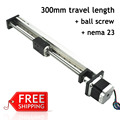 Free shipping 300mm stroke 2016 new china cnc linear guide rail price