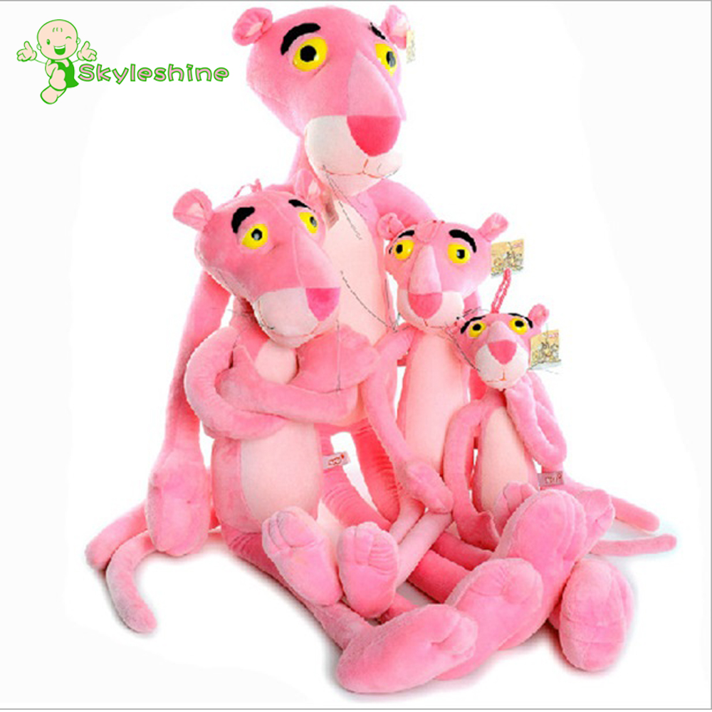 Skyleshine 50cm Pink Panther Plush Toys Cute Sofa Decorations Stuffed Animal Kids Gift For Babys#ML0192