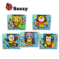 Baby Toys Stroller Hanging Cot Bed Crib Mobiles Sozzy Soft Elephant Monkey Zebra Owl Lion Plush Rattles Toy For Newborn Babies