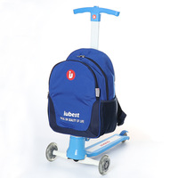 Children Bag Child Scootor With Backpack For Kids