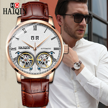 HAIQIN Mens Watches Watch Men 2019 Luxury Waterproof Fashion Sports / Automatic Military Mechanical men