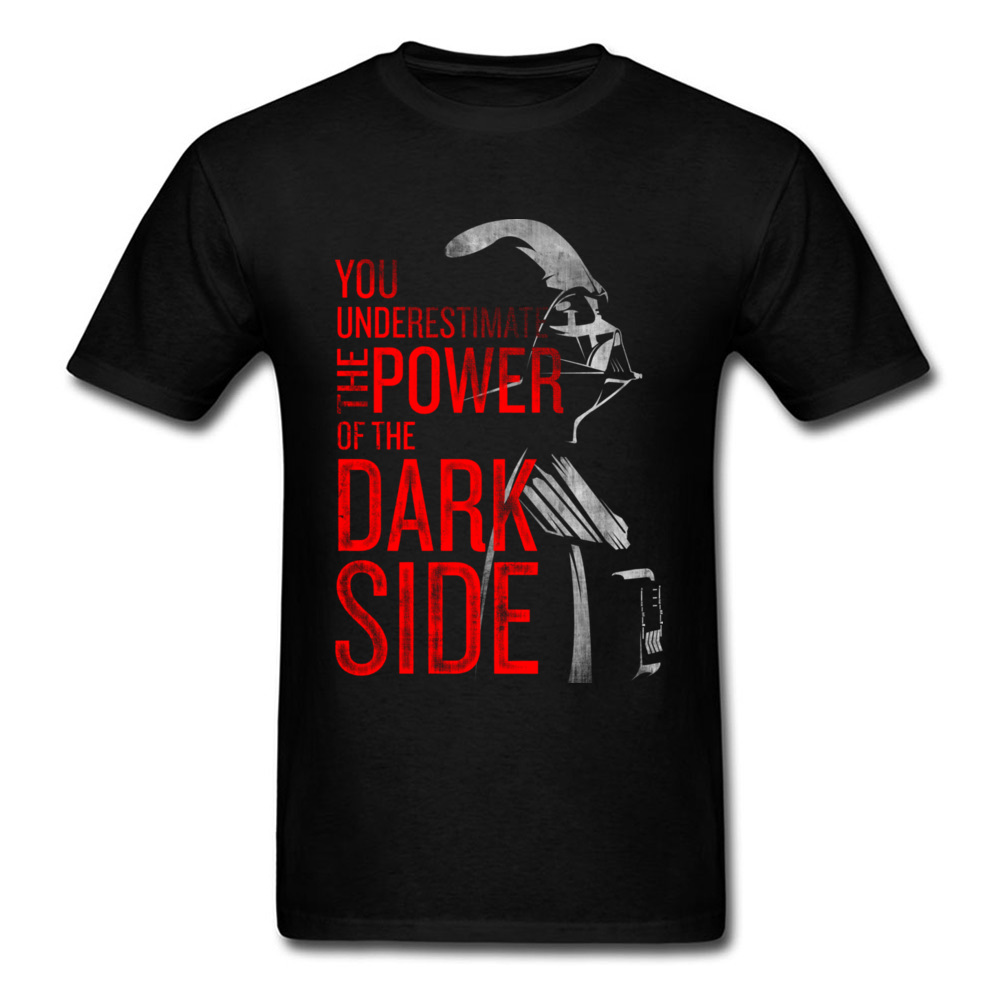 Star Wars   T     Shirt   Darth Vader Dark Side Power Movie Tshirts For Men Star Wars Yoda Last Jedi Battle   T  -  Shirt   Starwars Print 3D