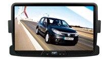 "Quad Core 8 ""Android 6.0 Coches Reproductor de DVD para Renault Duster/Logan/Sandero 2014 cabeza unidades gps 3g dvr de radio grabadora estéreo"