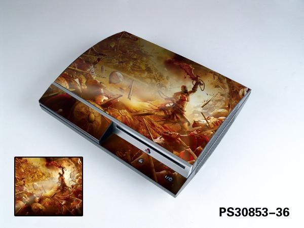 Aufkleber Schneidig God Of War 910 Vinylhaut-aufkleber-schutz Für Sony Ps3 Original-fett Für Playstation 3 Skins Aufkleber Unterhaltungselektronik