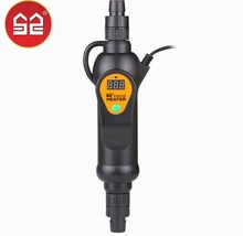 110 240V Regolabile Sommergibile riscaldatore esterno aquarium fish Tank Water heater 300w 500w regolatore di temperatura mantenere A vite senza fine