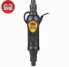 110 240V regulowany grzałka zanurzeniowa zewnętrzne akwarium bojler 300w 500w regulator temperatury keep worm