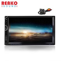 Universal 7 2Din Car Video Player GPS Navigation MP5 Stereo Player FM RDS USB AUX Bluetooth