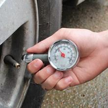 ФОТО car tire pressure gauge auto air pressure meter tester diagnostic tool metal car repair test high precision tire pressure tester