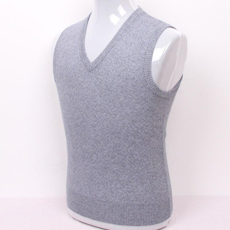 a5ad8722b 100%goat cashmere men s vest sweater argyle plaid big size dad ...