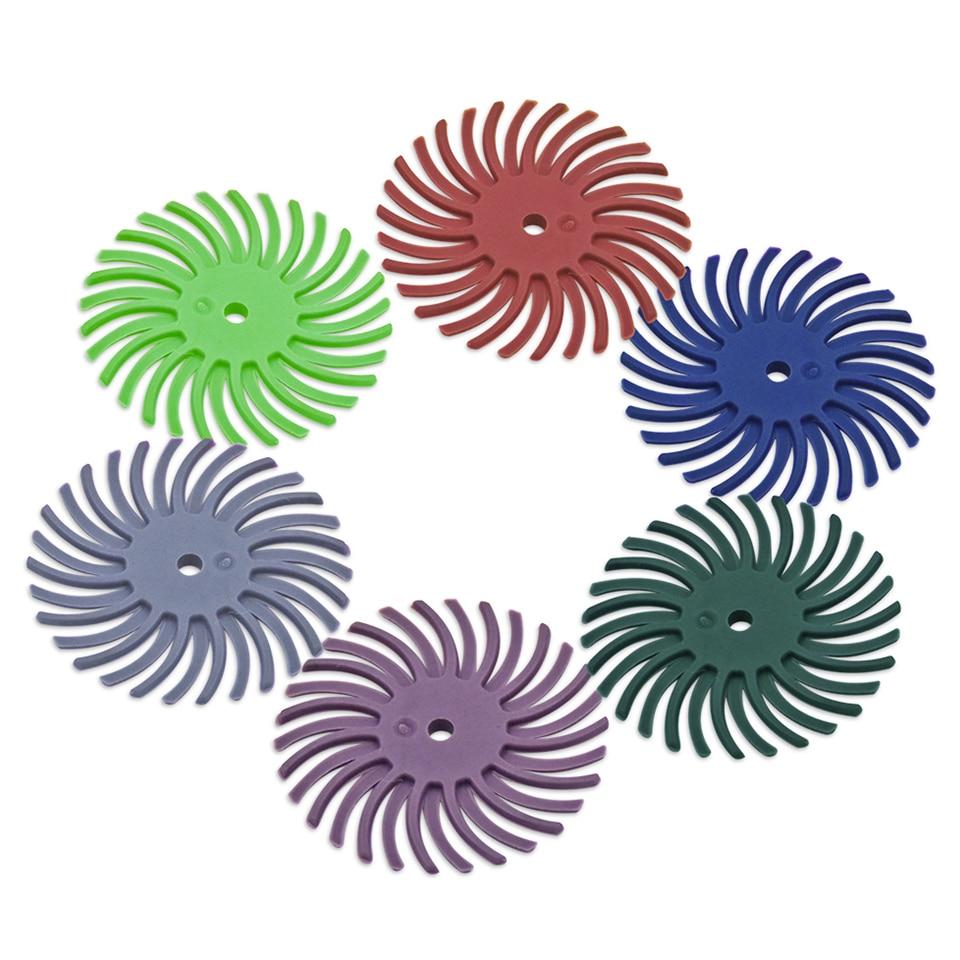 Accesorios para herramientas rotativas 20pcs para herramientas abrasivas de cepillo radial Dremel Mini ruedas de molienda Broca para taladro eléctrico Dremel
