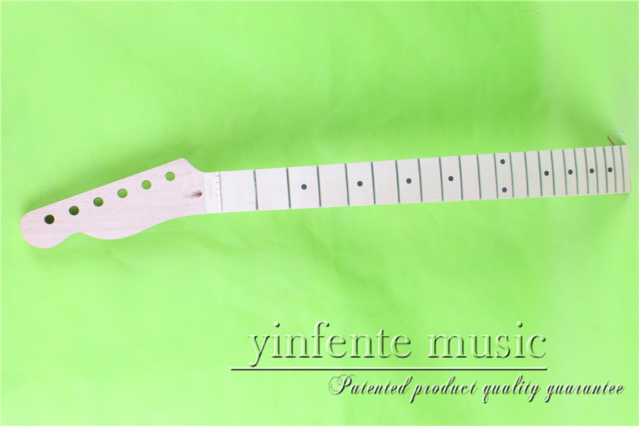 L -00119+1 #  unfinished   25.5 Electric guitar neck fine quality  maple  fingerboard