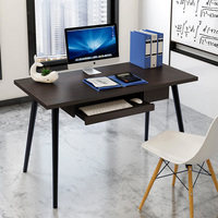 Modern Stylish Computer Laptop Desk Coffee Table Writing Desk Dresser With Wheels