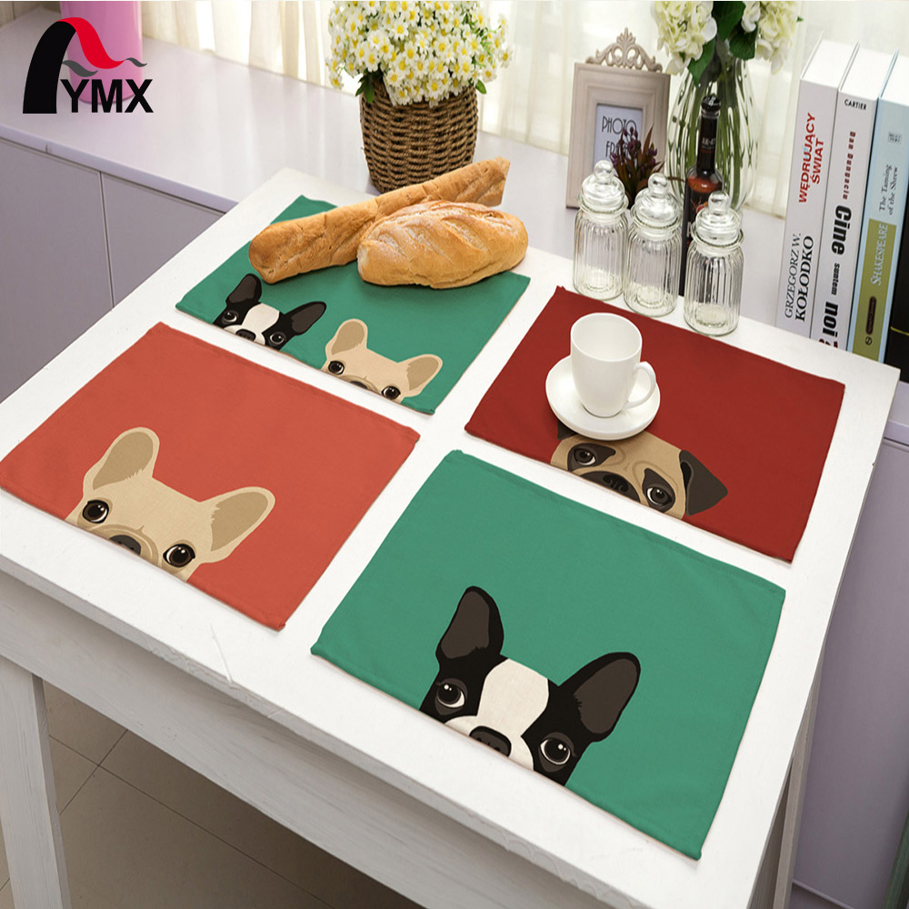 Cute Dog Pattern Table Napkin For Wedding Supplies Party Decoration Kids Cartoon Birthda ...