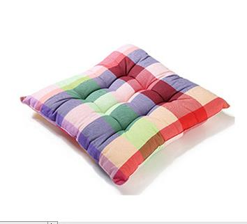 Decorative Pillows 4 Colors Rainbow Plaid Soft Plush Kitchen Dining Chair  Pads Home Decor Cushion In Cushion From Home U0026 Garden On Aliexpress.com |  Alibaba ...