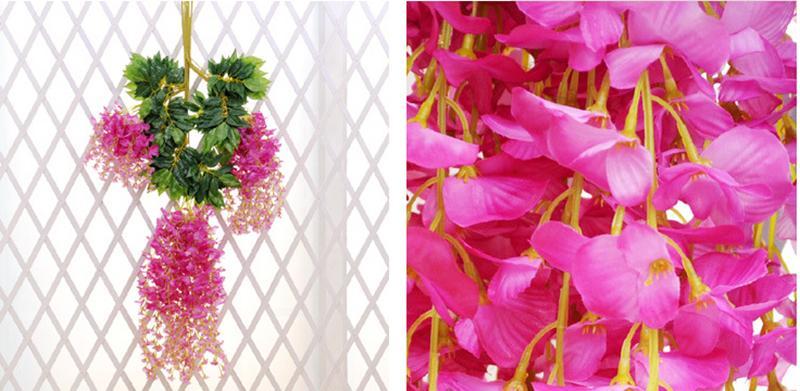 Hochzeitsfest bevorzugt künstliche Blumen 1.1M Silk Blumen-elegantes - Partyartikel und Dekoration - Foto 5