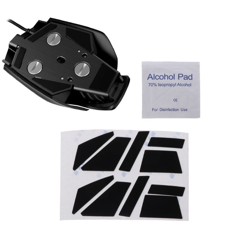2 Sets 0.6mm Teflon Mouse Skates Muis Sticker Pad Voor Corsair M65 Pro Rgb Muis J05 19 Dropship Modieuze (In) Stijl;