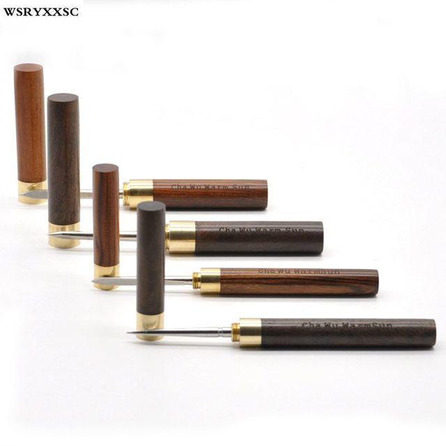 Puer Tea Knife 1PCS,Stainless Steel And Sandalwood,Shape Of The Pen