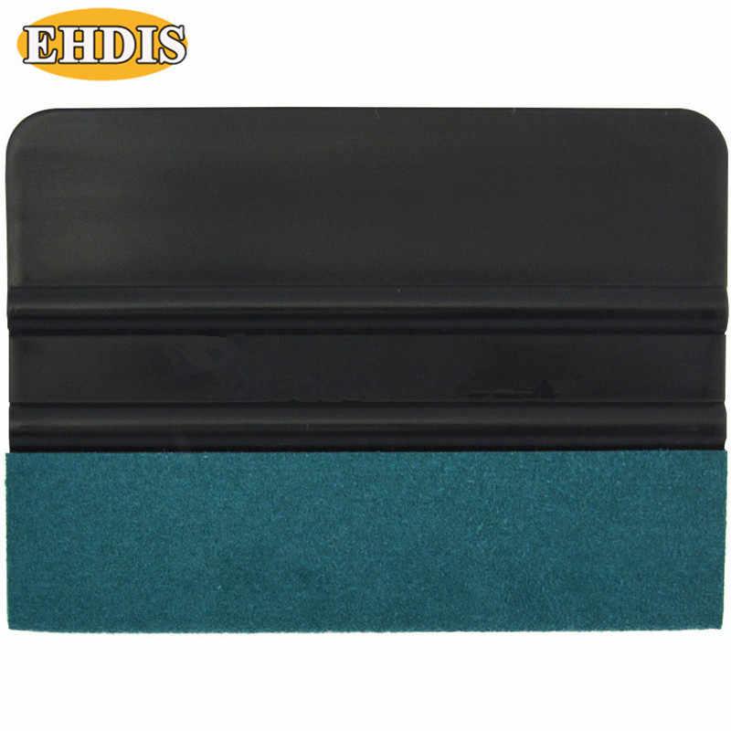 EHDIS Vinyl Auto Verpackung Karte Schaber Auto Carbon Film Filz Rand Rakel Auto Styling Aufkleber Wrap Zubehör Fenster Tönung Werkzeug