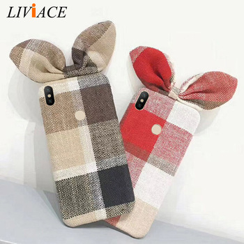 Cloth plaid phone case on for xiaomi mi8 mi 8 lite a2 a1 5x 6x 6 mix 2s 2 redmi note 5 pro prime global grid back cover coque plaid