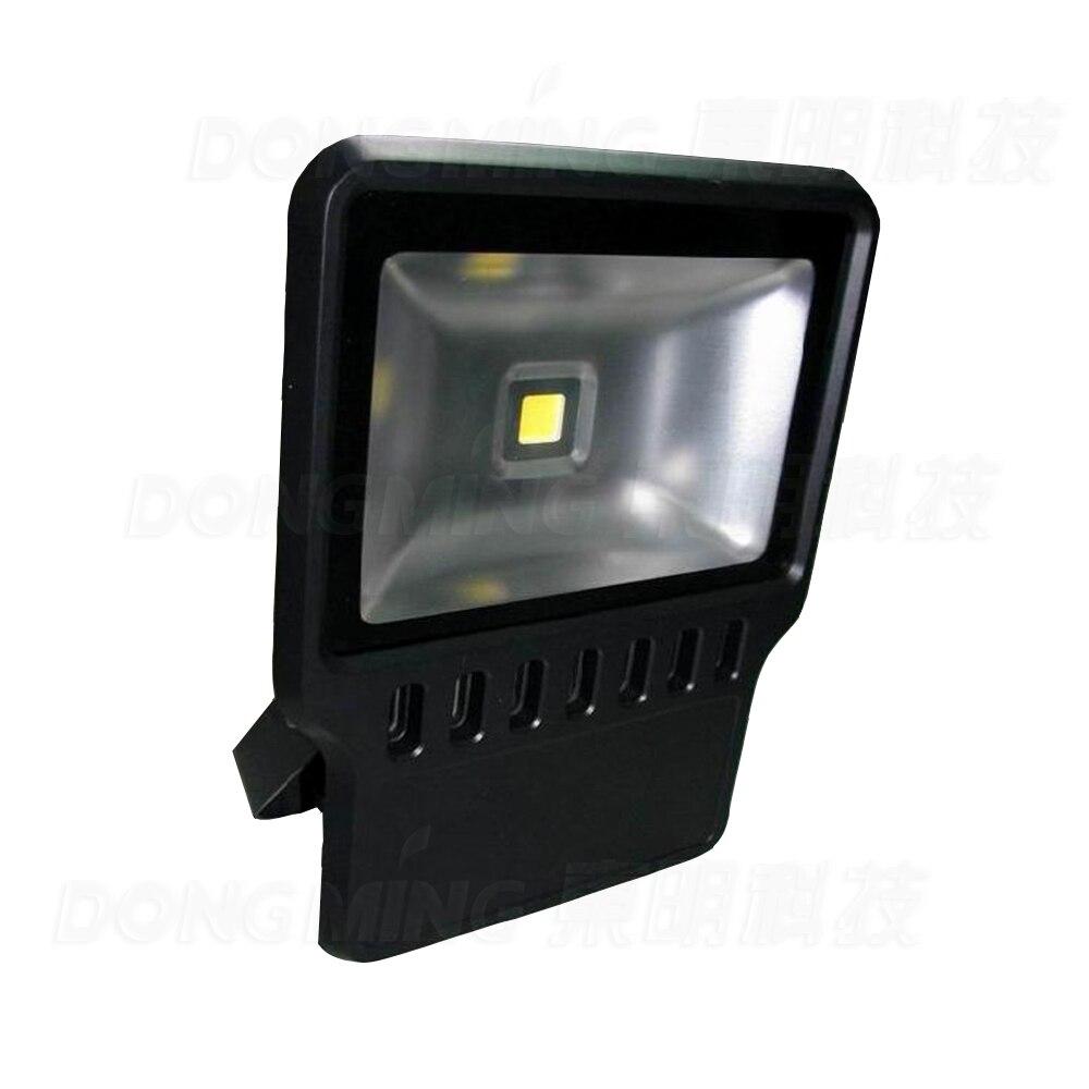 Высокая Мощность 100 Вт Светодиодный прожектор теплый белый/холодный белый гамма 110 В 220 В уличный светильник для наружного освещения водонеп