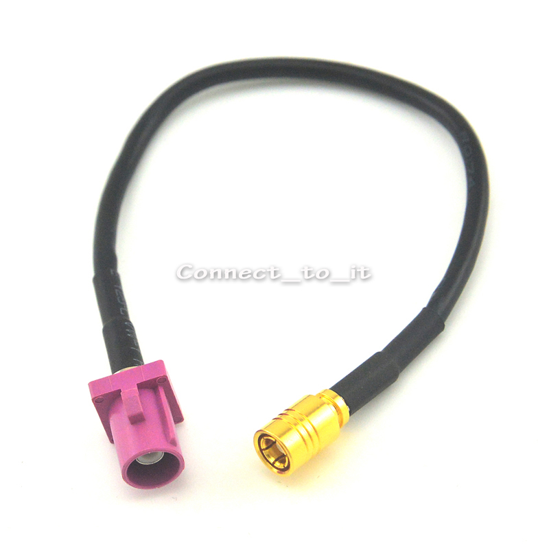 GSM Antenna Extension Cord RF Coaxial Cable Fakra H Male to SMB Female Jack Connector Pigtail Cable RG174 15CM 5 x rf antenna fm tv coaxial cable tv pal female to female adapter connector