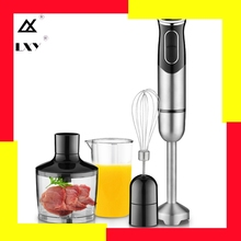 600ml Hand Blender 4 In 1 Portable Immersion Blender For Kitchen Food Processor Stick With Chopper Whisk Electric Juicer Mixer itop hand held blender portable immersion blender electric food blender mixer kitchen food processor egg beater with whisk