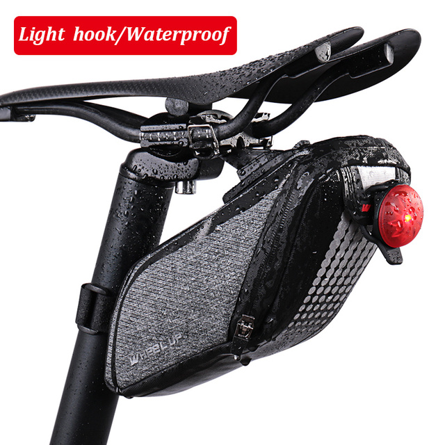 Wheel Up Innovative Waterproof Bicycle Bag Rear Roswheel Saddle For Bike Reflective Tail Seat