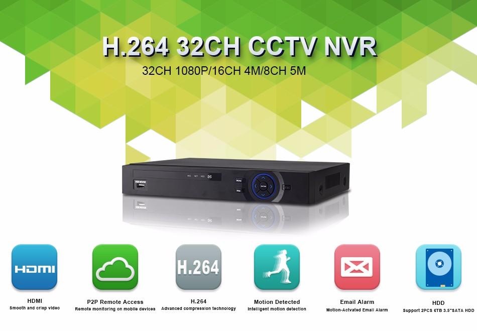 XQ1-32CH CCTV NVR