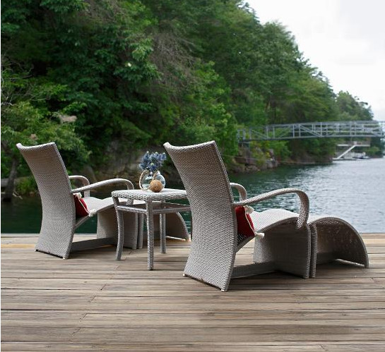 Summer Classics Outdoor Furniture Wicker Pool Lounge Chairs