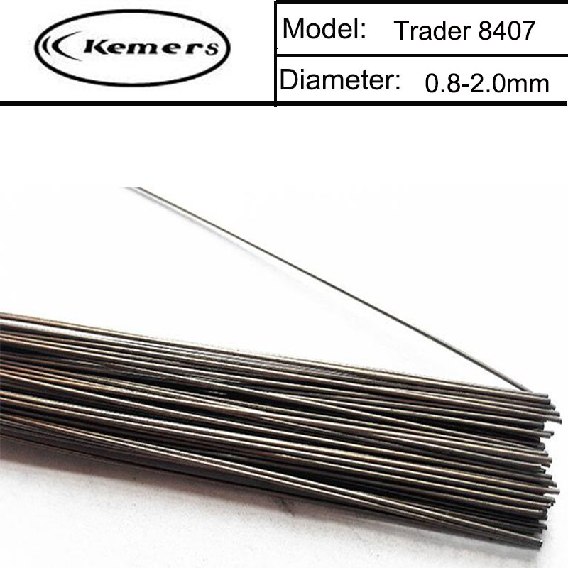 1KG/Pack Kemers Trader Mould welding wire 8407 repairmold welding wire for Welders (0.8/1.0/1.2/2.0mm) S01203 professional welding wire feeder 24v wire feed assembly 0 8 1 0mm 03 04 detault wire feeder mig mag welding machine ssj 18