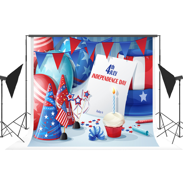 buy american flag day background photo booth backdrop fotografia for. Black Bedroom Furniture Sets. Home Design Ideas