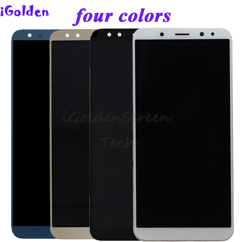 pantalla For Huawei Mate 10 Lite LCD Display Touch Screen Digitizer Screen Glass Panel Assembly with frame for Mate 10 Lite lcd