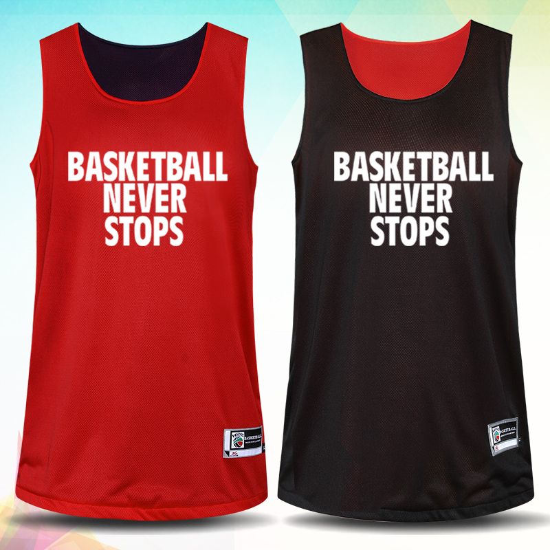 Reversible Jersey & Shorts 2PCS Women Basketball Jersey Set Girl - Sportswear and Accessories - Photo 3